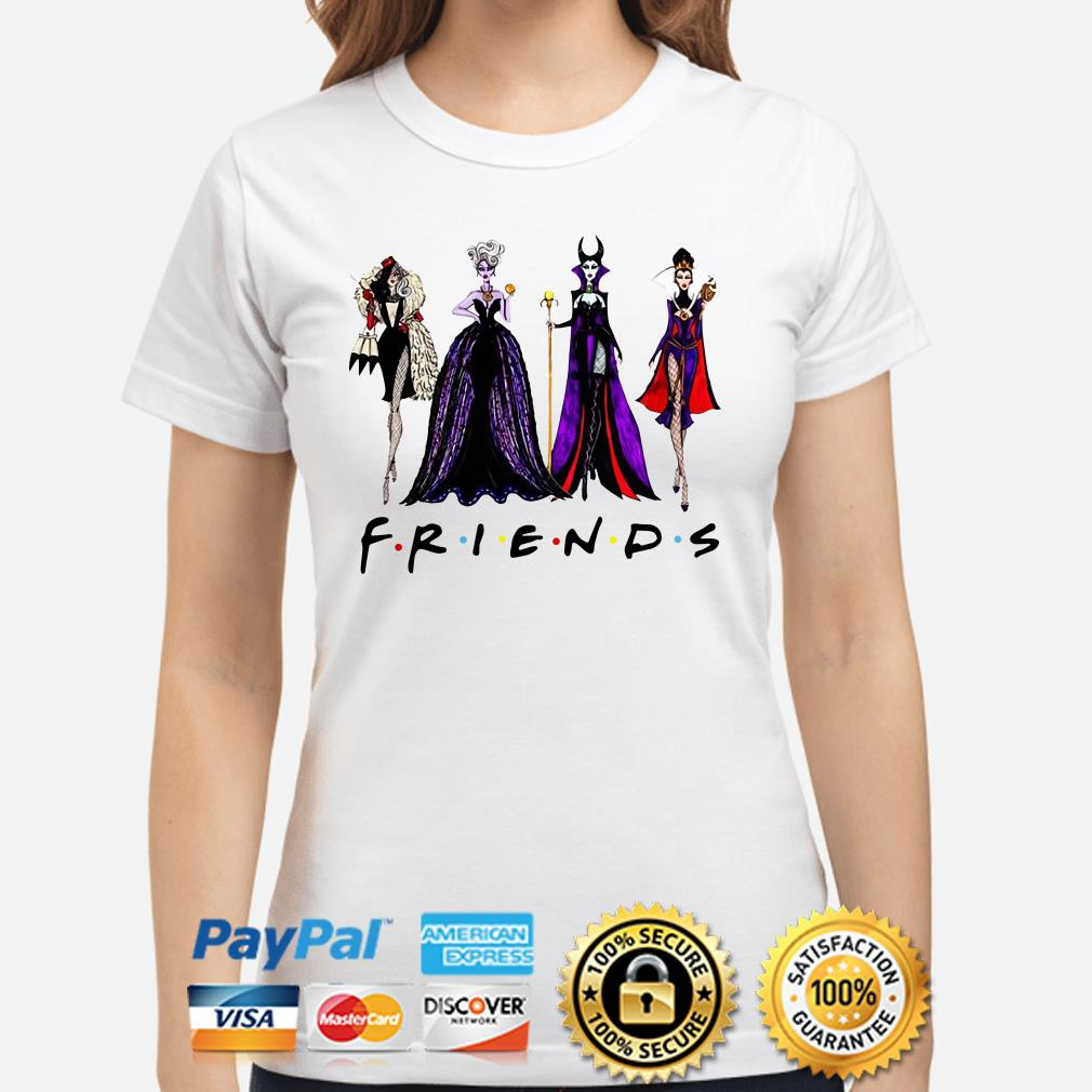 Maleficent Villain Friends Ladies shirt