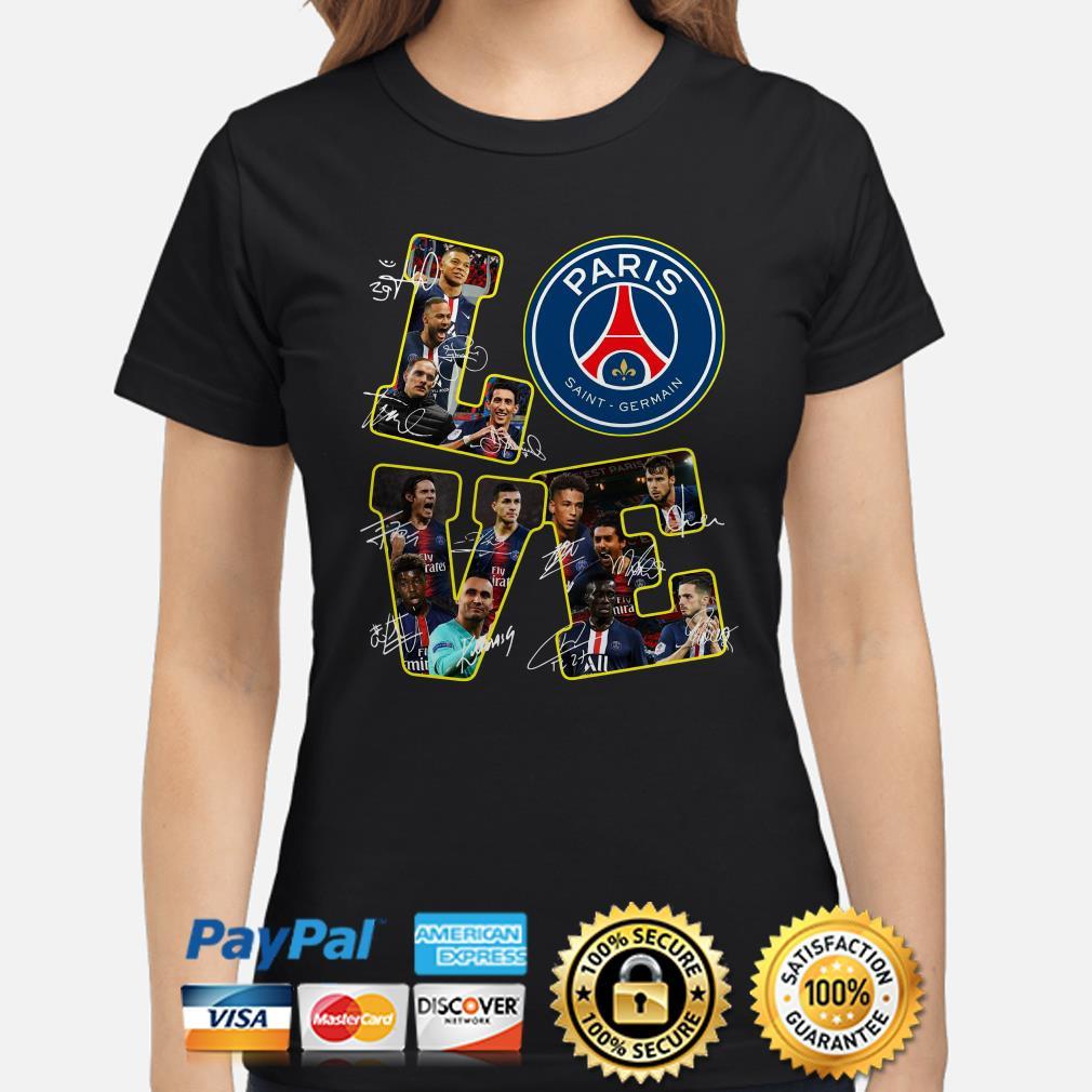 Love Paris Saint Germain signature Ladies shirt