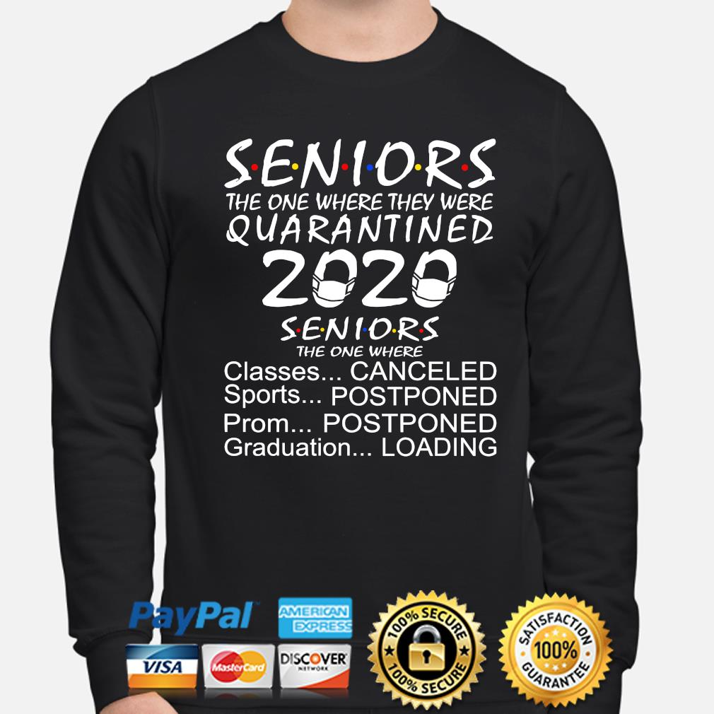 Seniors the one where they were quarantined 2020 classes sports canceled s sweater