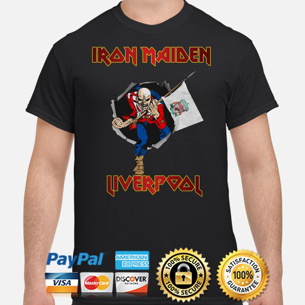 Iron Maiden Trooper Liverpool shirt