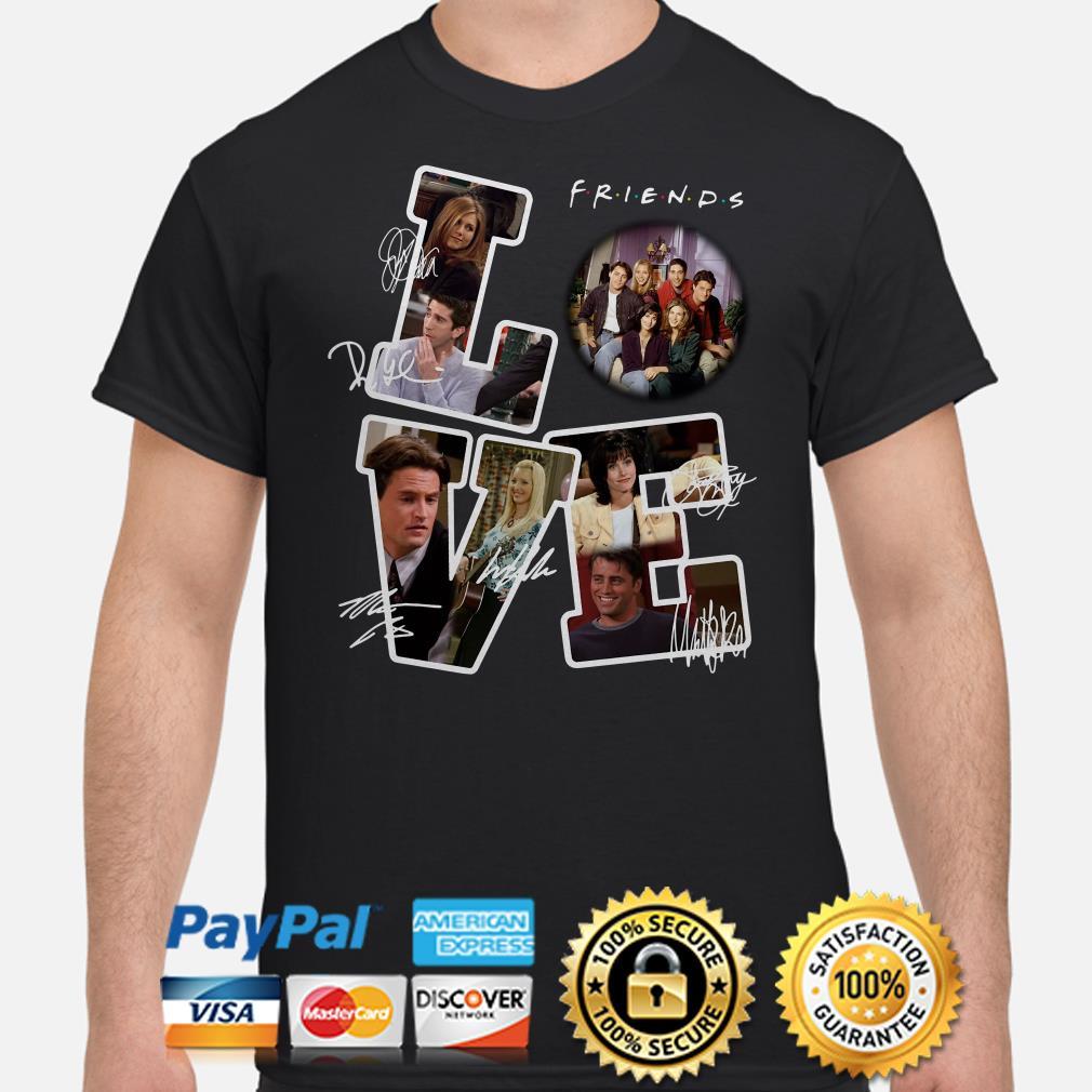 Love Friends TV show signature shirt