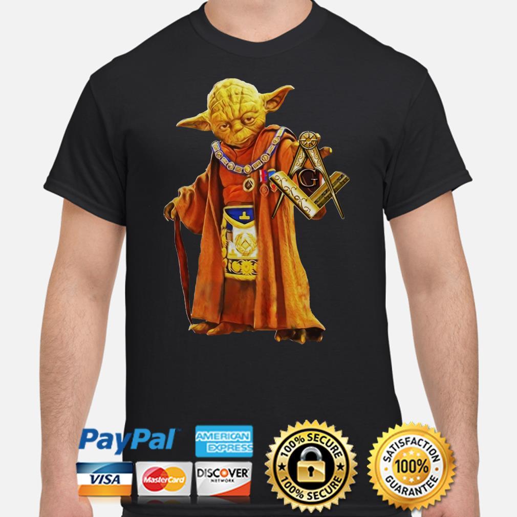 Master Yoda Free Masonry shirt