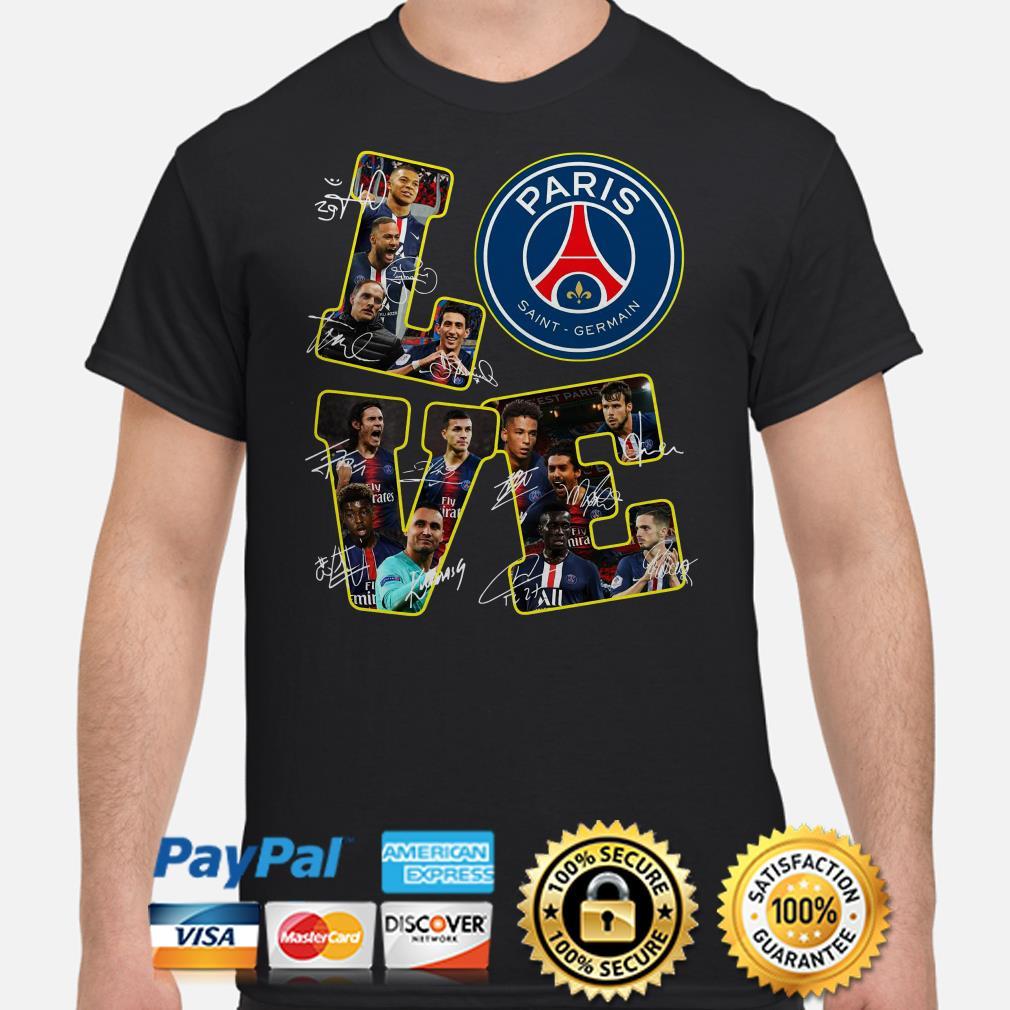 Love Paris Saint Germain signature shirt