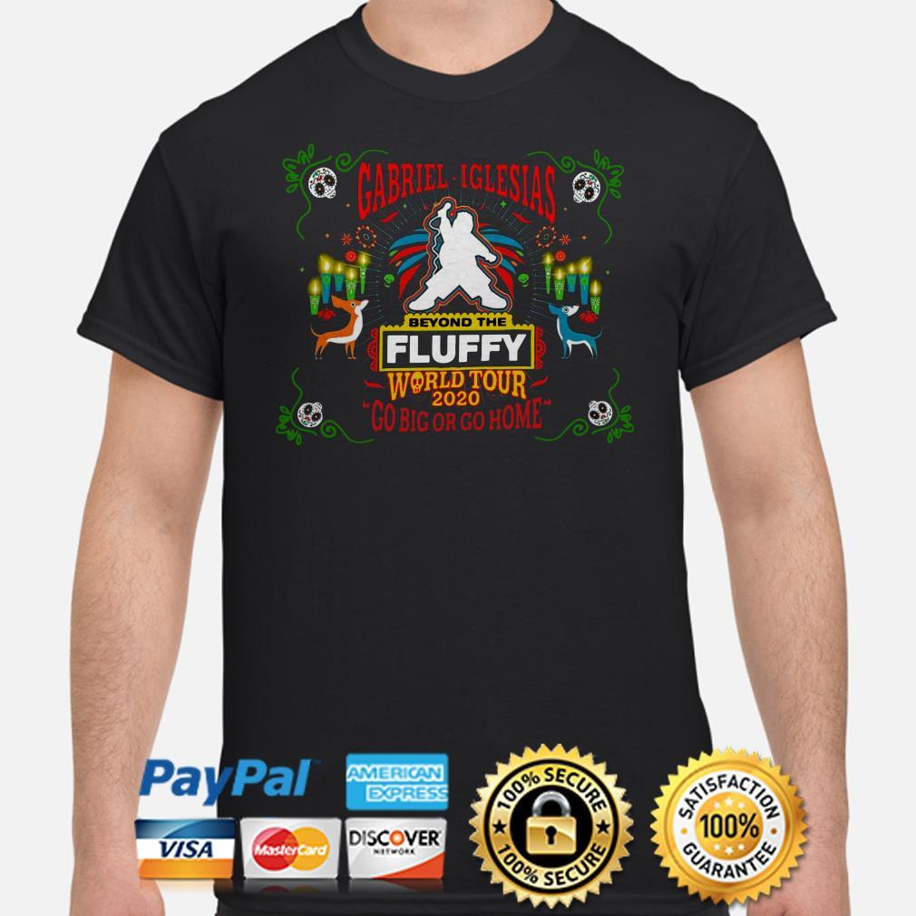 Gabriel Iglesias Beyond the Fluffy World tour 2020 shirt