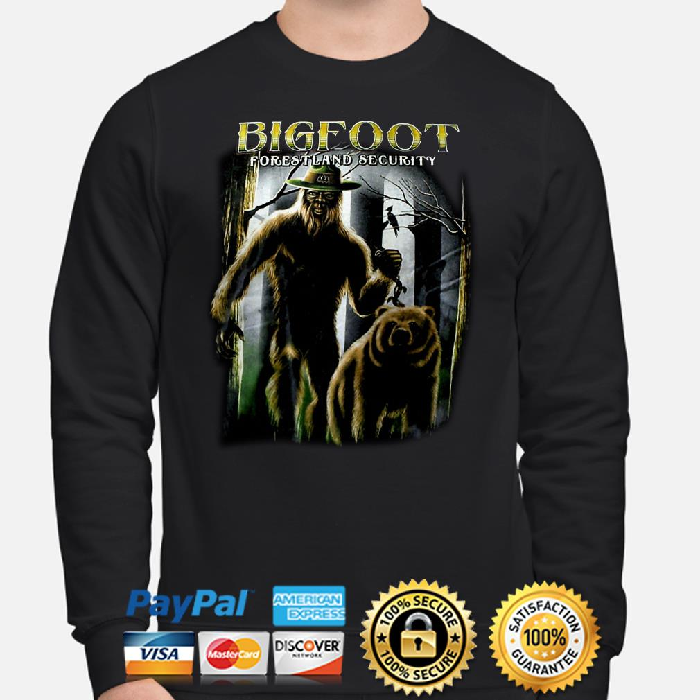 Bigfoot forestland security Sweater