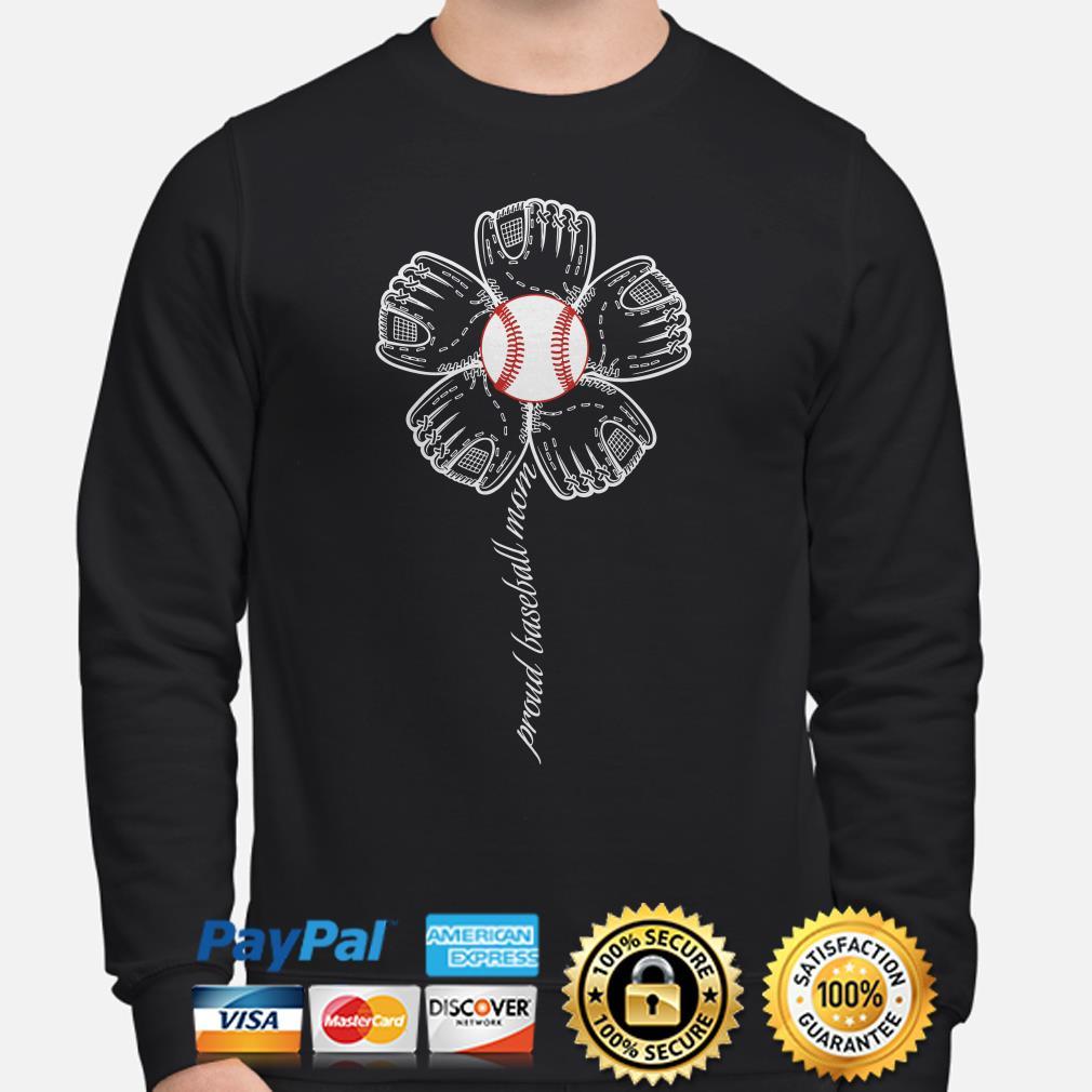Sunflowers proud baseball mom Sweater