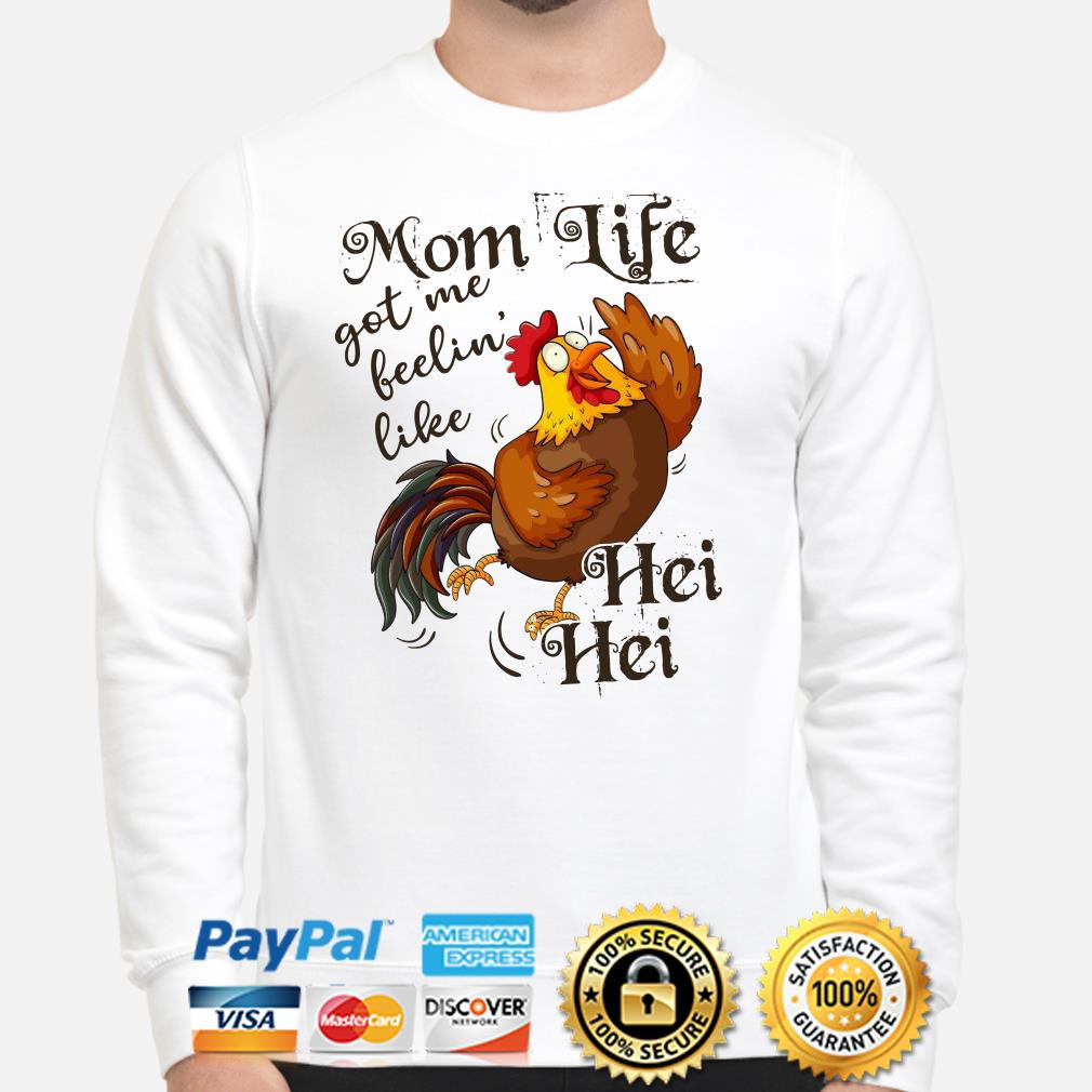 Chicken mom life got me feelin' like Hei Hei Sweater
