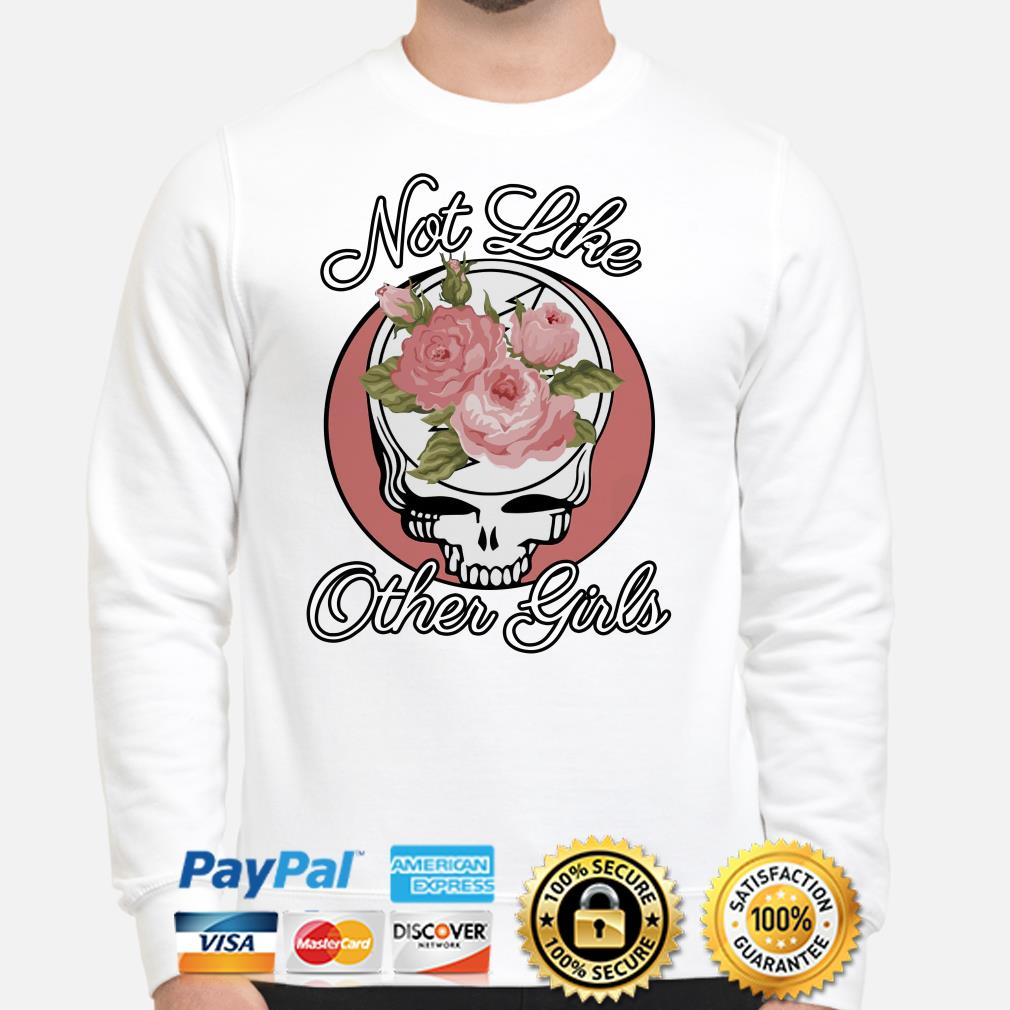 Grateful Dead Roses not like other girl Sweater