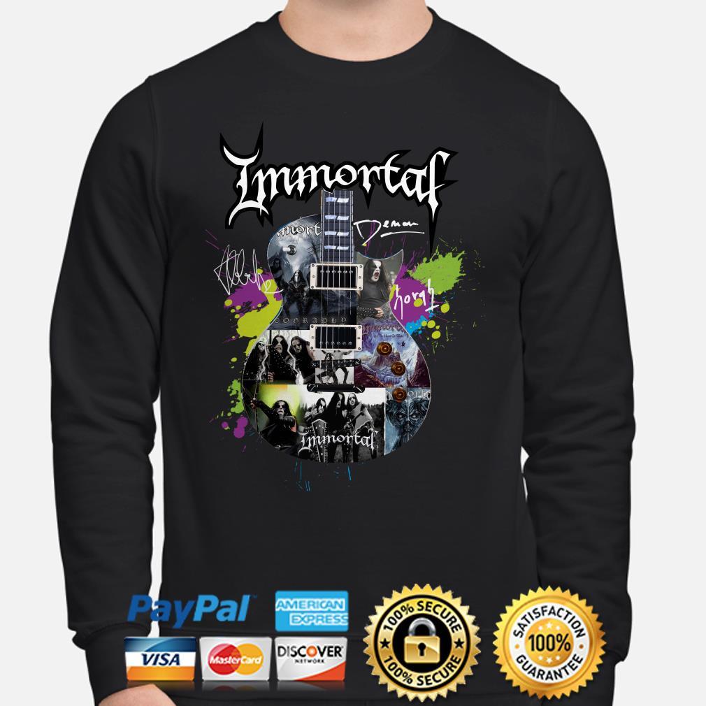 Immortal Guitar signature Sweater