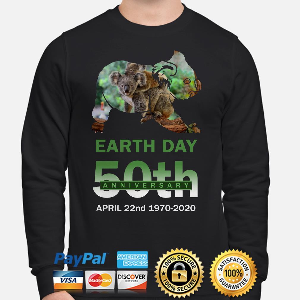 Koalas Earth day 50th anniversary April 22 2020 Sweater
