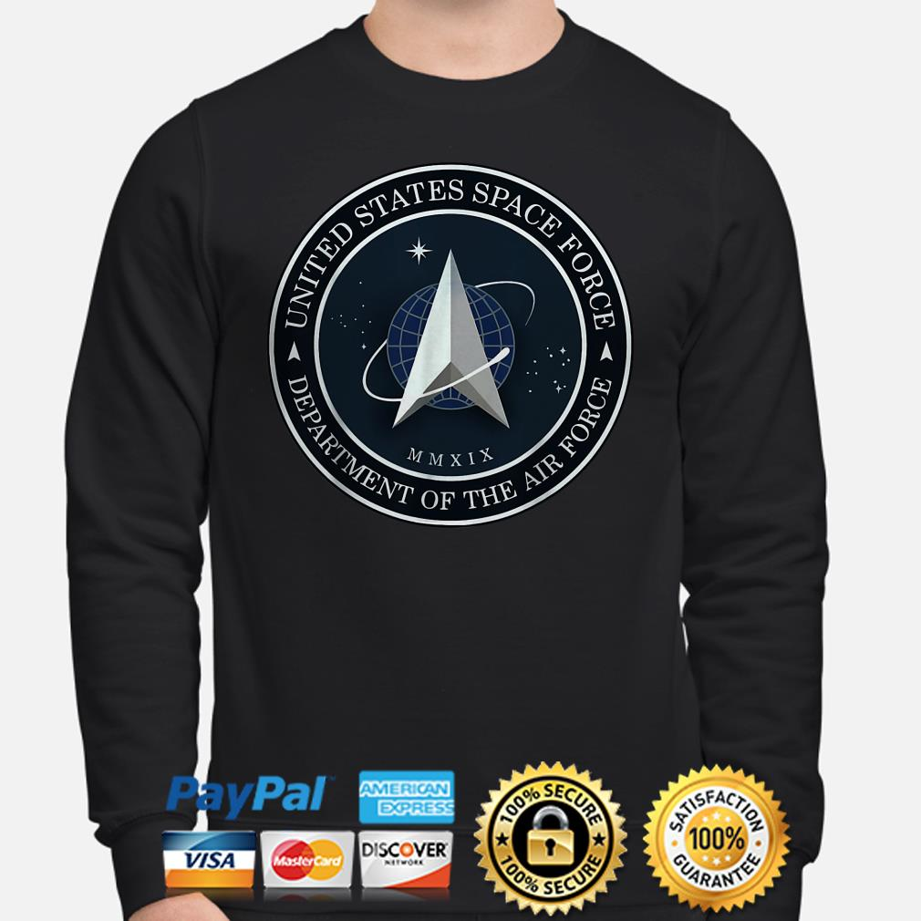 United States Space Force Department of the Air Force Sweater
