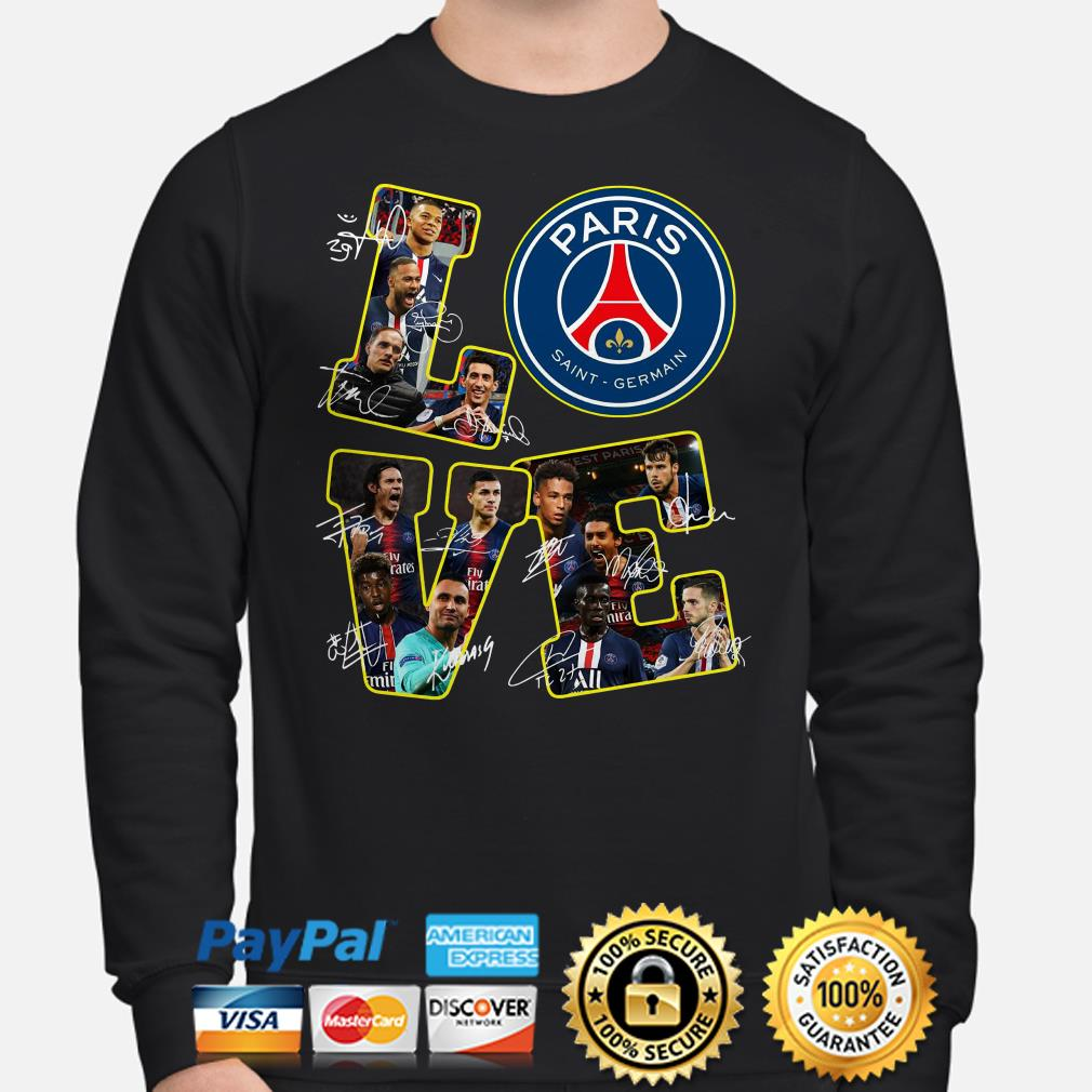 Love Paris Saint Germain signature Sweater