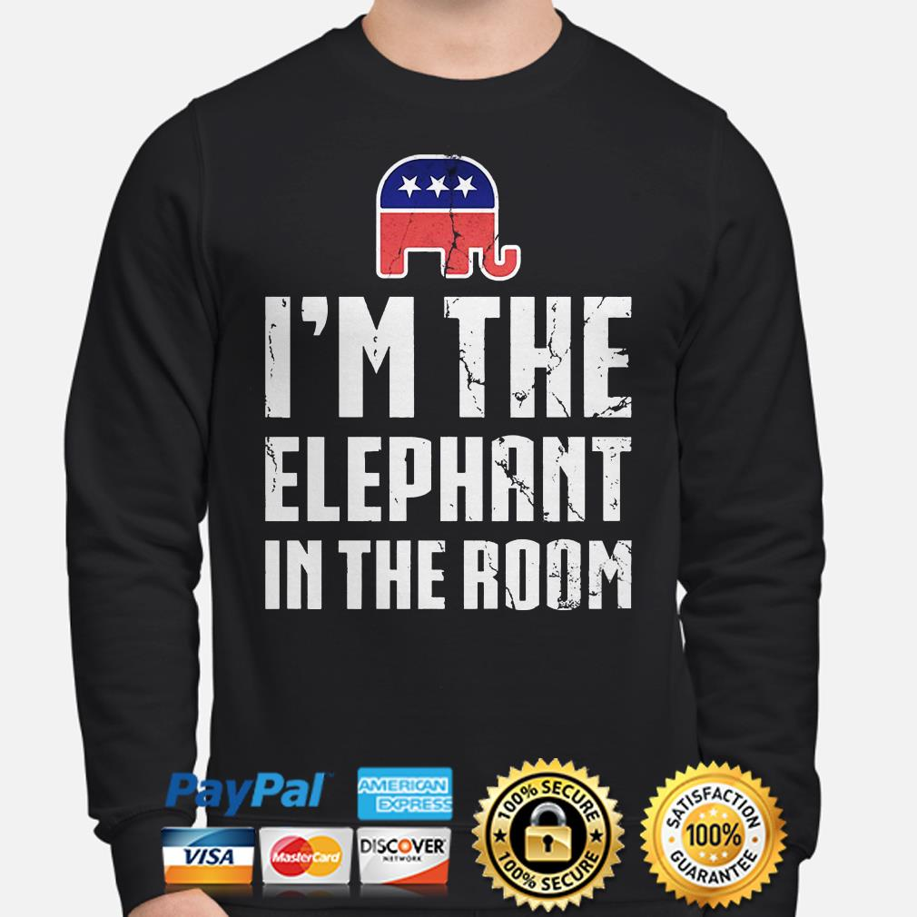 Republican I'm the elephant in the room Sweater