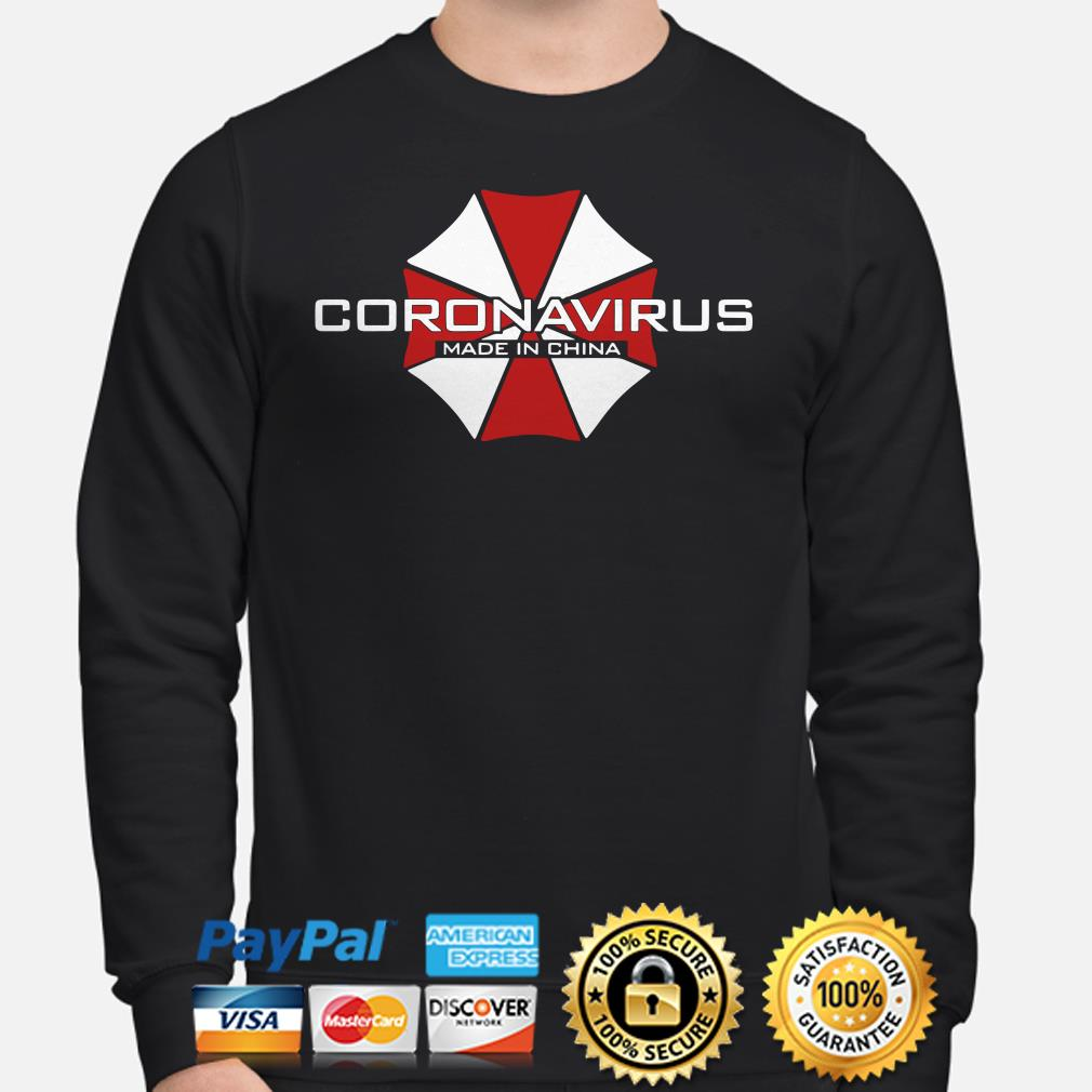 Resident Evil Coronavirus made in china Sweater
