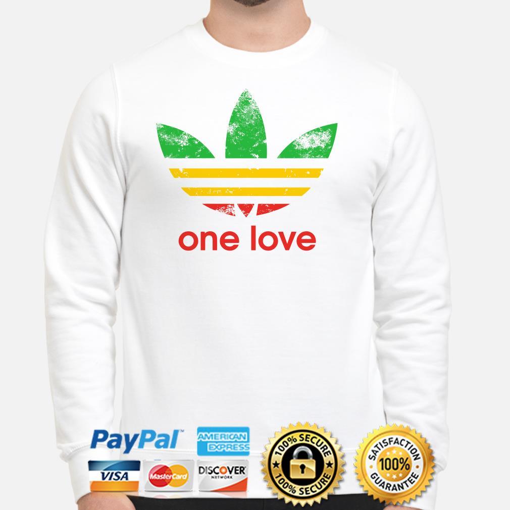 Adidas One love flag Sweater