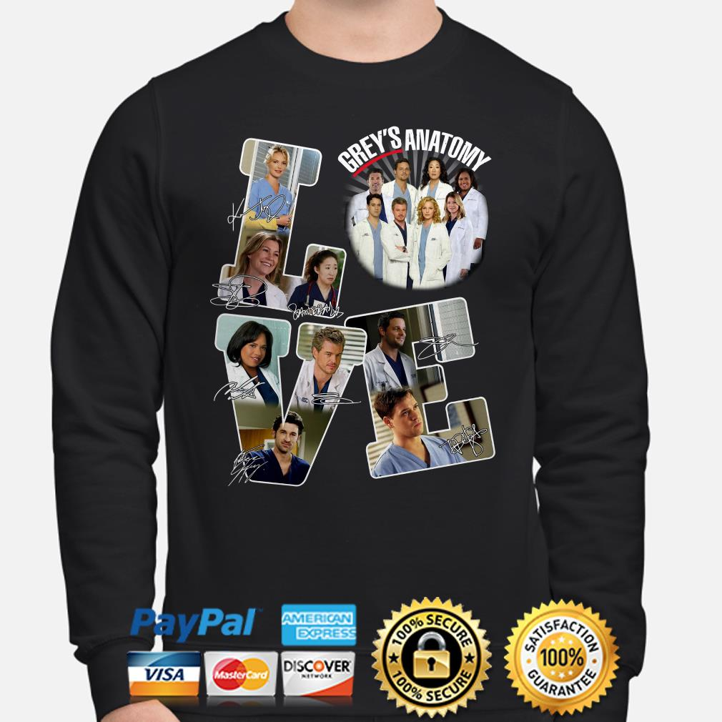 Love Grey's Anatomy signature Sweater