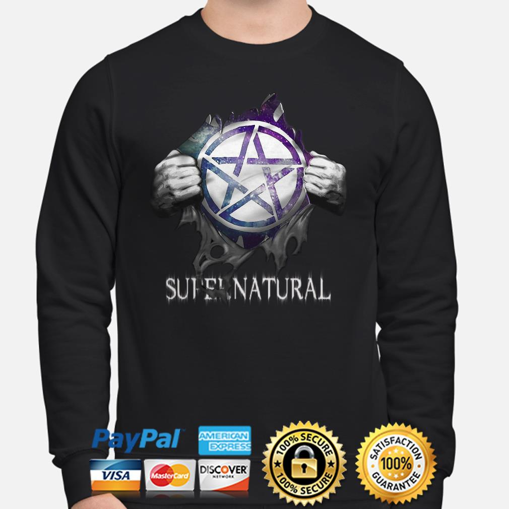Supernatural Blood inside me Sweater