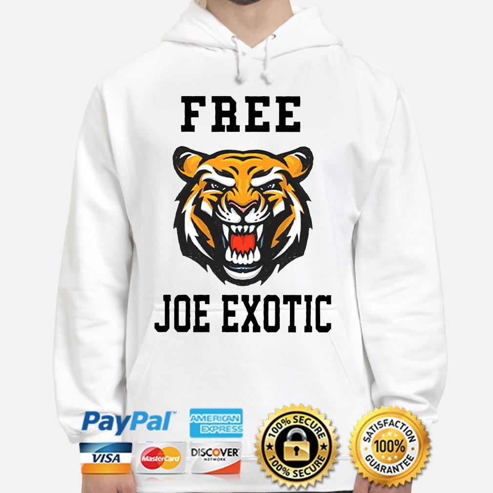 Tiger Free Joe Exotic Shirt hoodie
