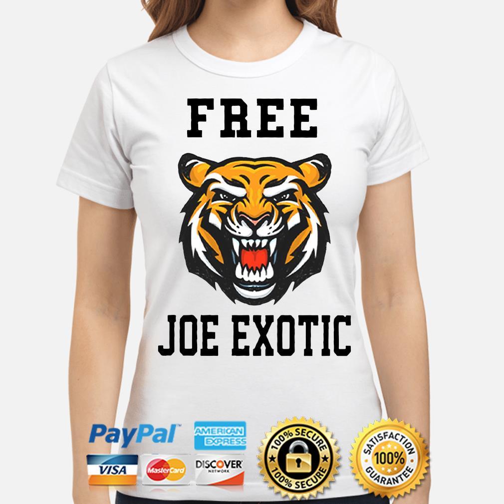 Tiger Free Joe Exotic Shirt ladies-shirt