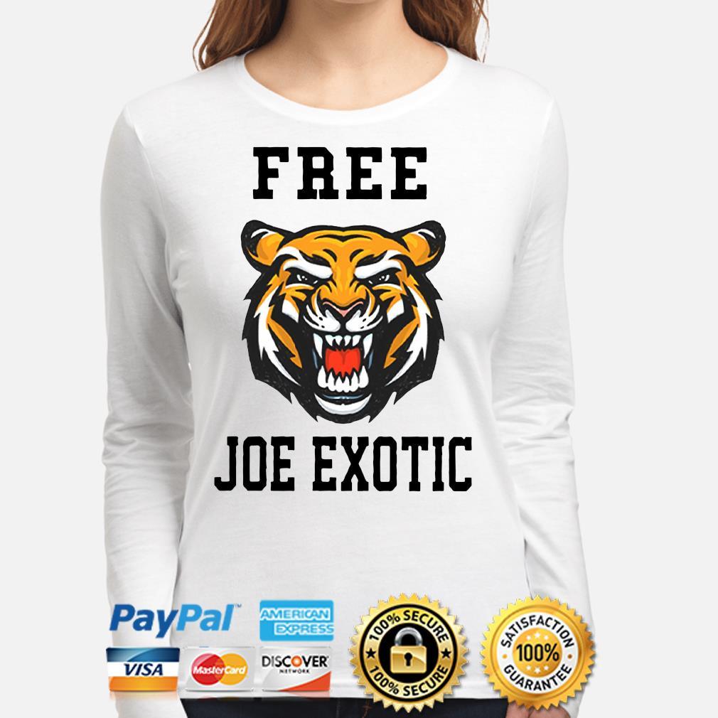Tiger Free Joe Exotic Shirt long-sleeve