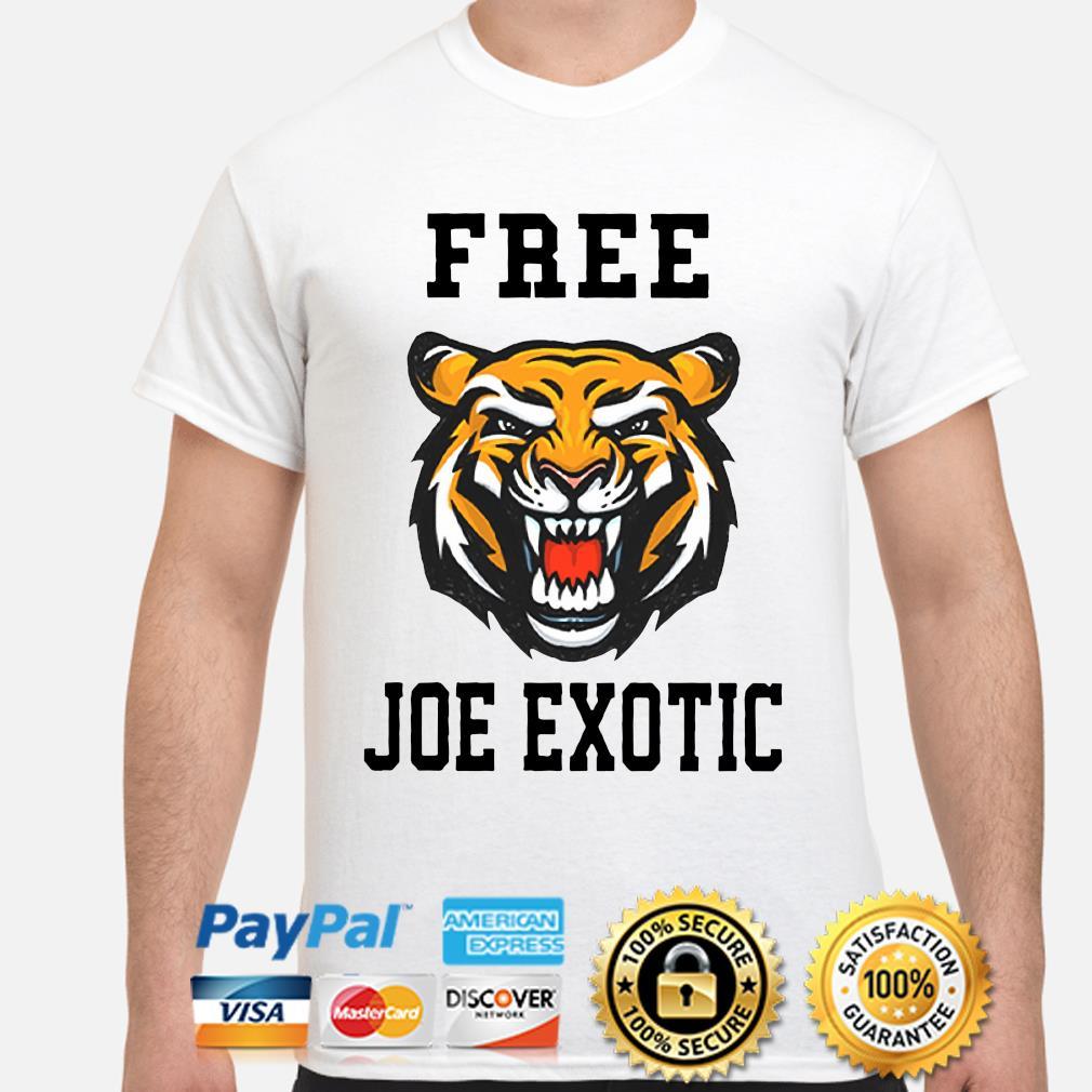 Tiger Free Joe Exotic Shirt