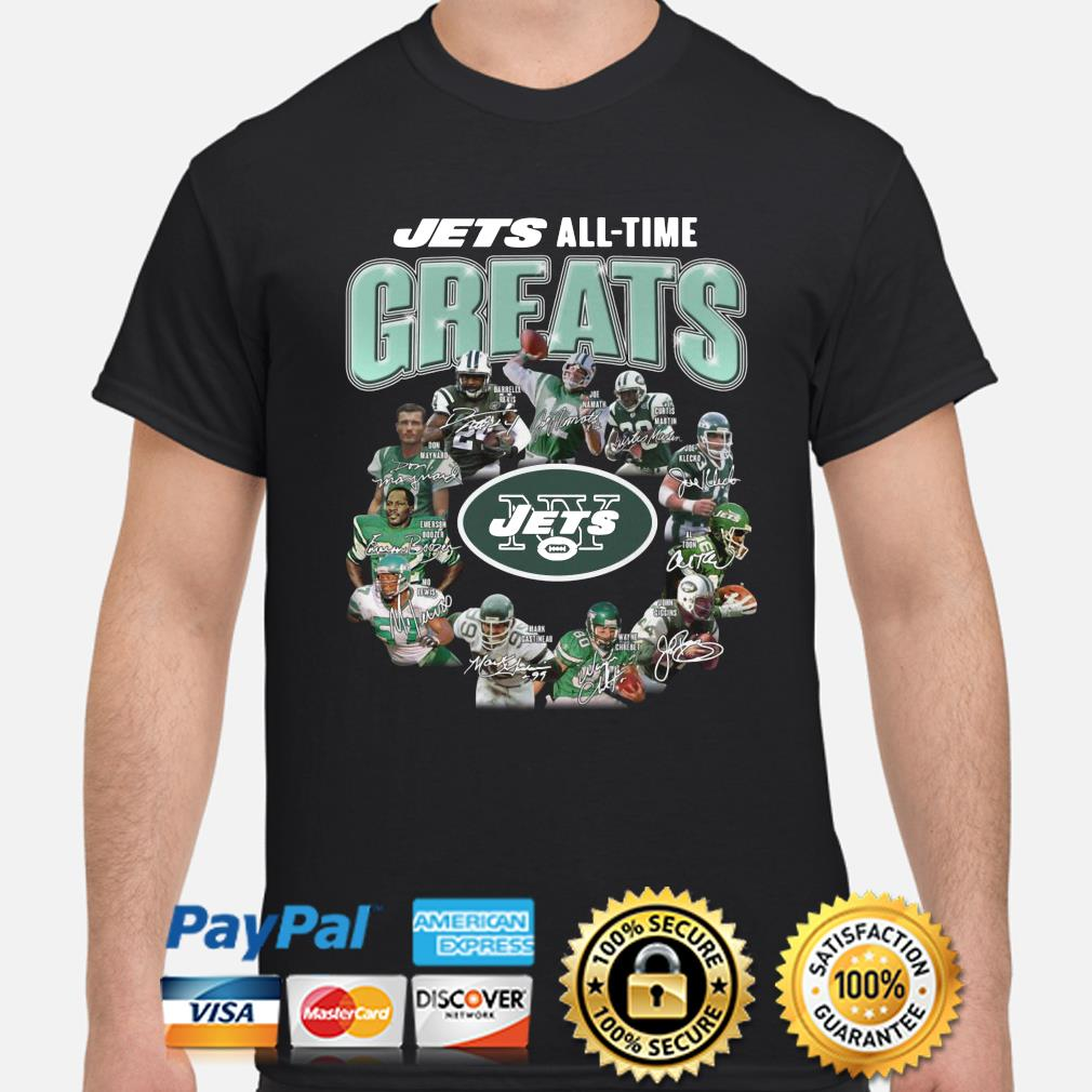 New York Jets All-time Greats signature shirt