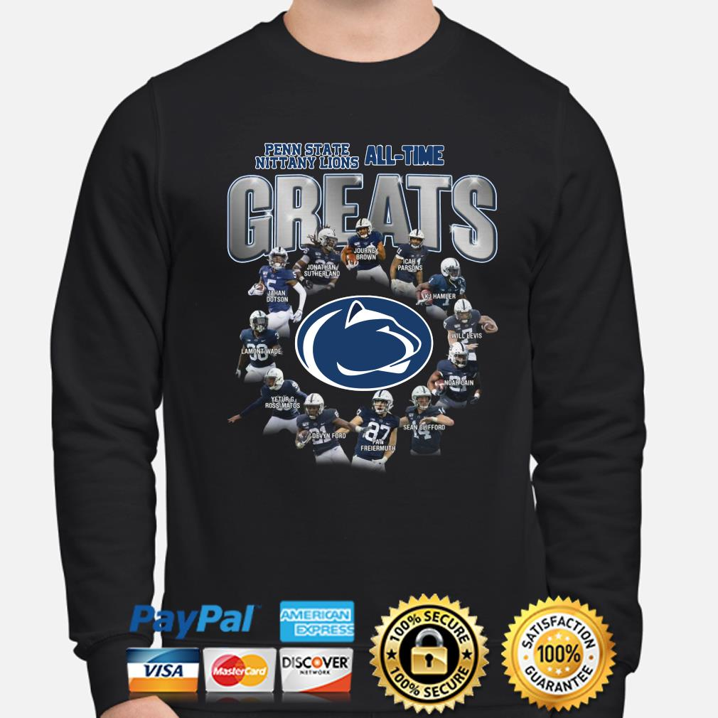 Penn State Nittany all-time Greats signature s sweater