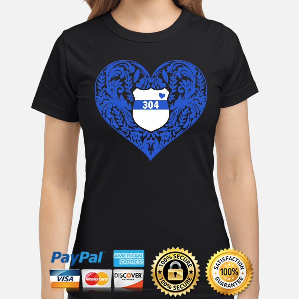 Police Heart 304 s ladies-shirt