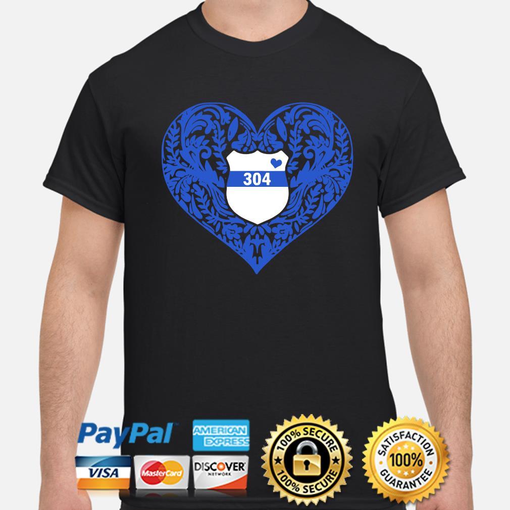 Police Heart 304 shirt