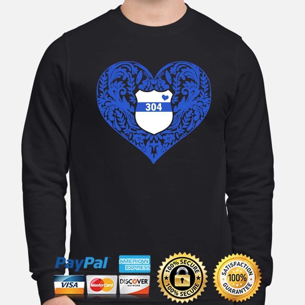 Police Heart 304 s sweater