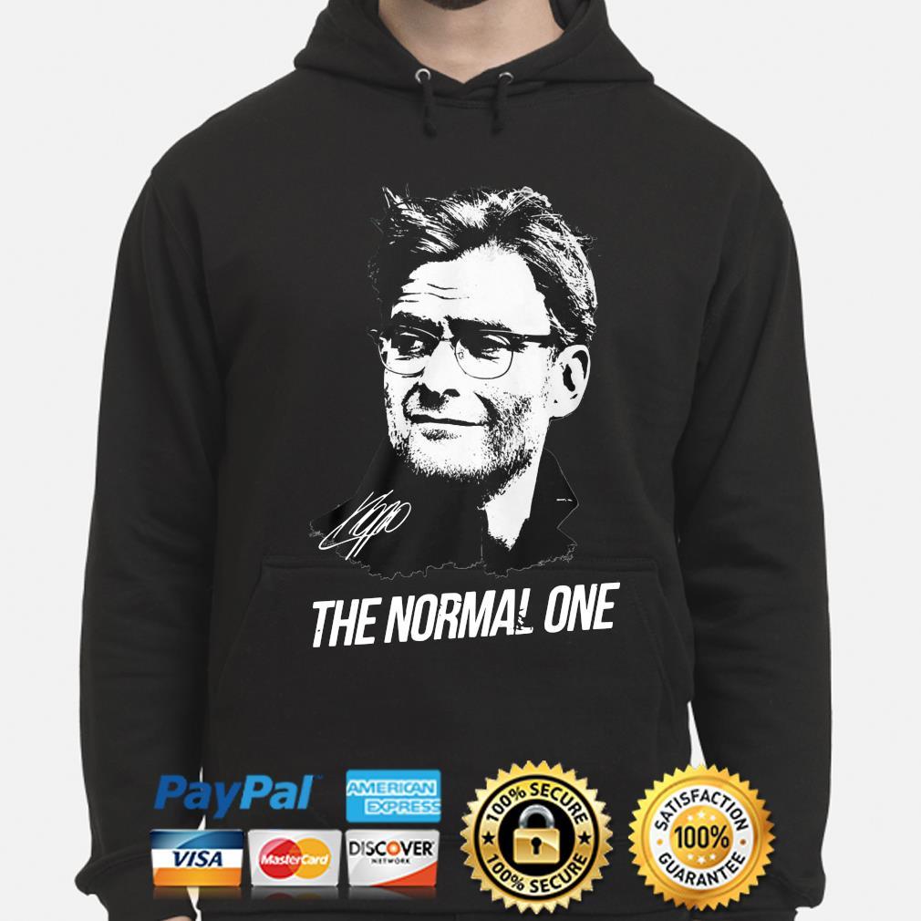 Jurgen Klopp The normal one s hoodie