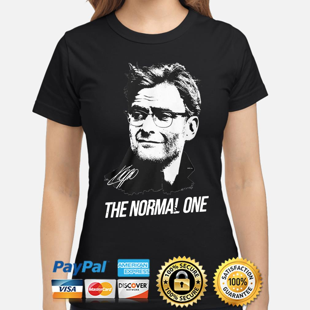 Jurgen Klopp The normal one s ladies-shirt