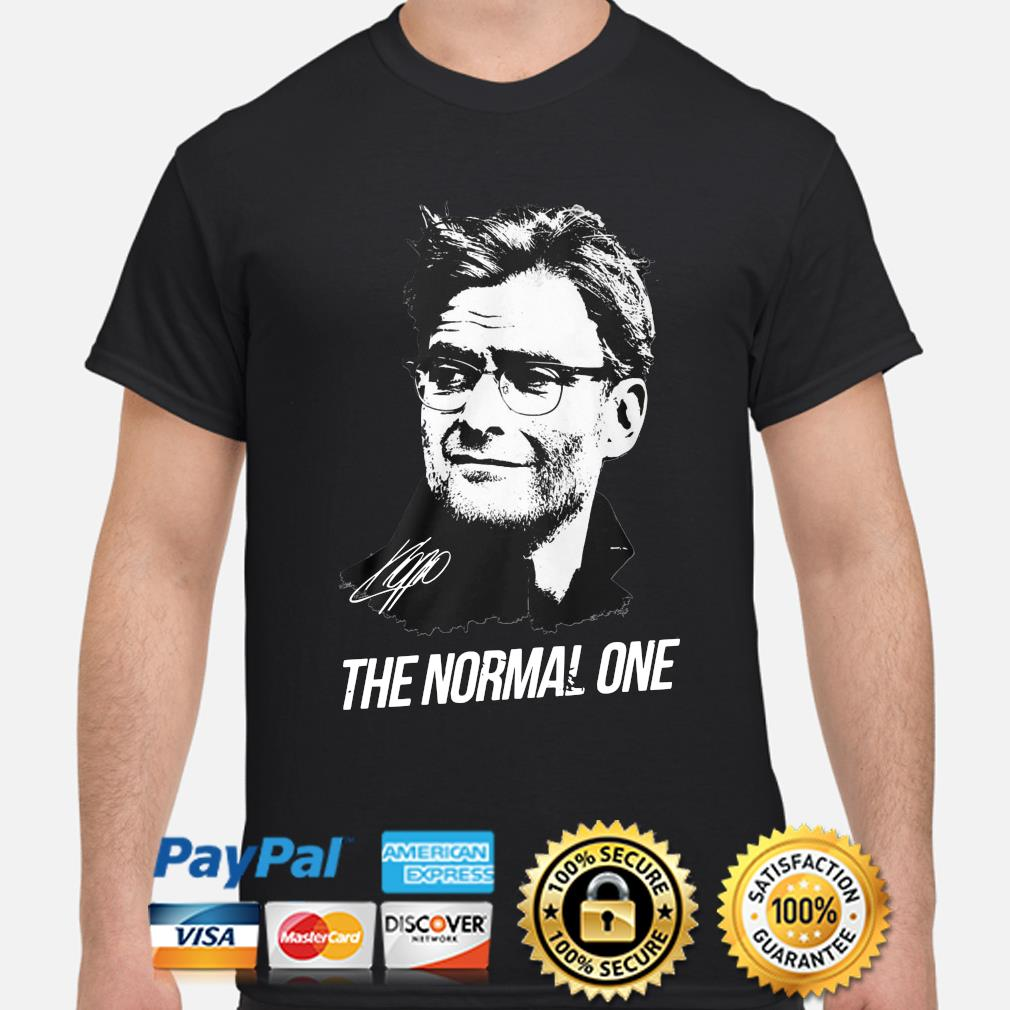 Jurgen Klopp The normal one shirt