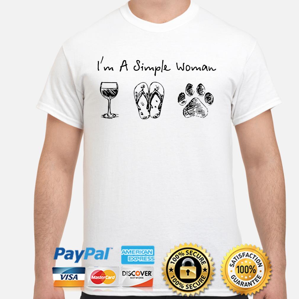 I'm a simple woman who love Nurse Coffee and Dog shirt