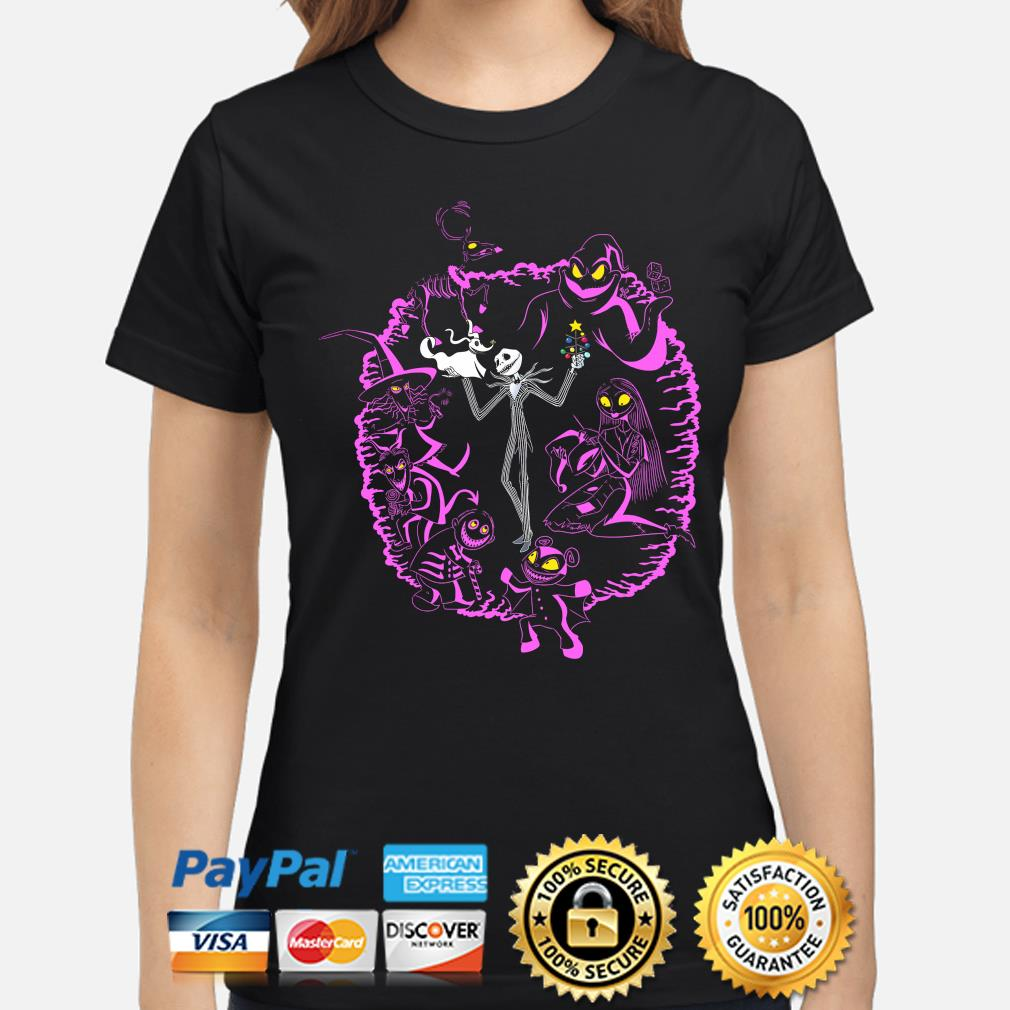 The nightmare before christmas Jack Skellington and Sally s ladies-shirt