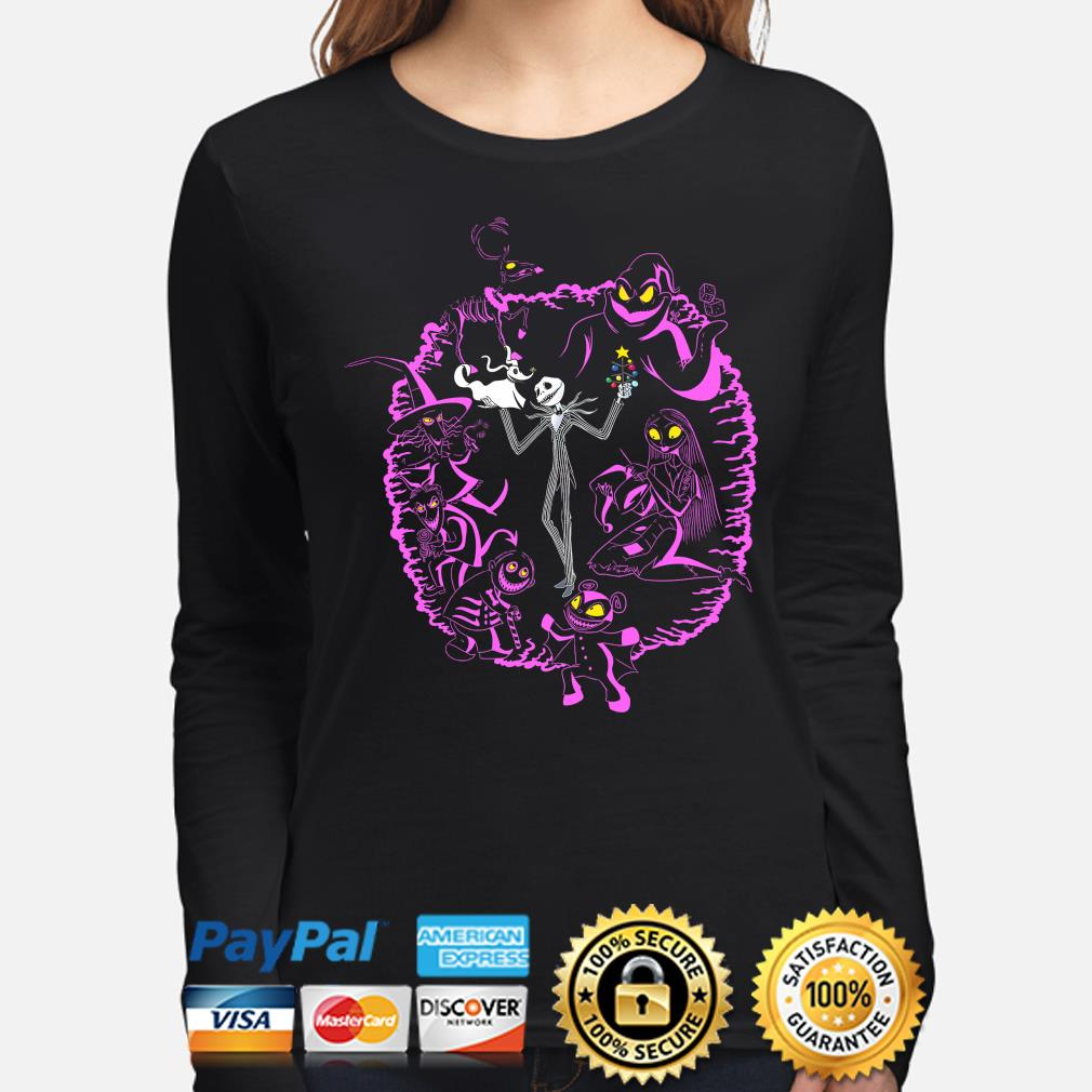 The nightmare before christmas Jack Skellington and Sally s long-sleeve