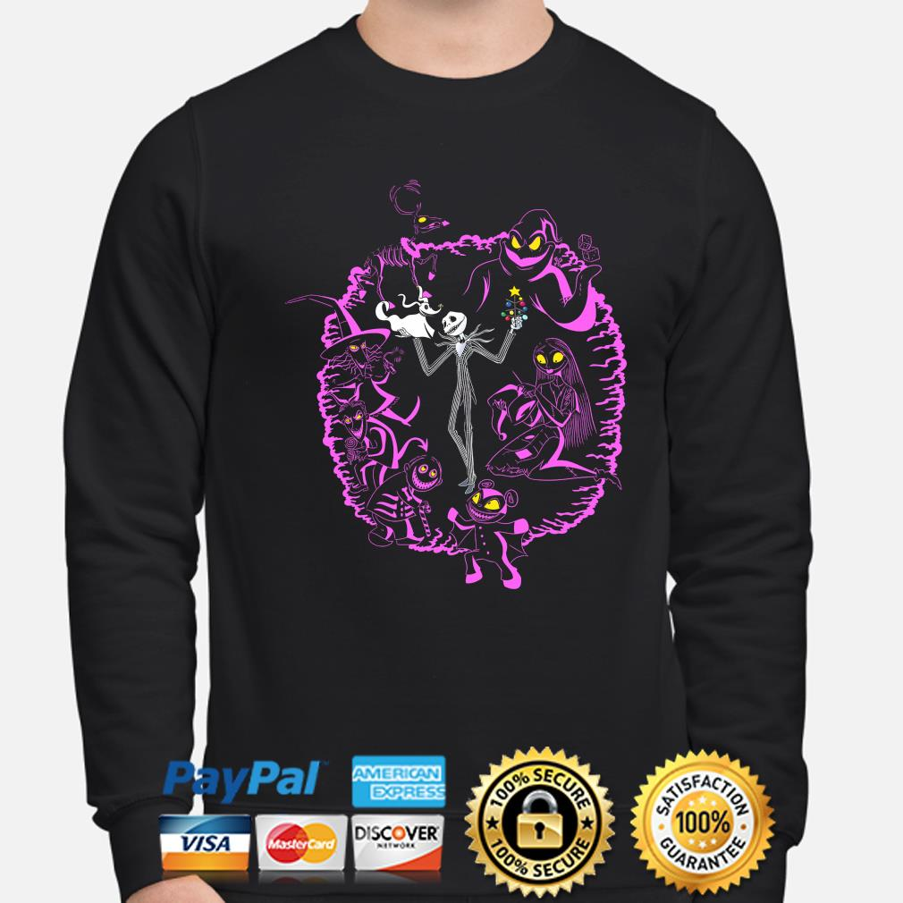 The nightmare before christmas Jack Skellington and Sally s sweater