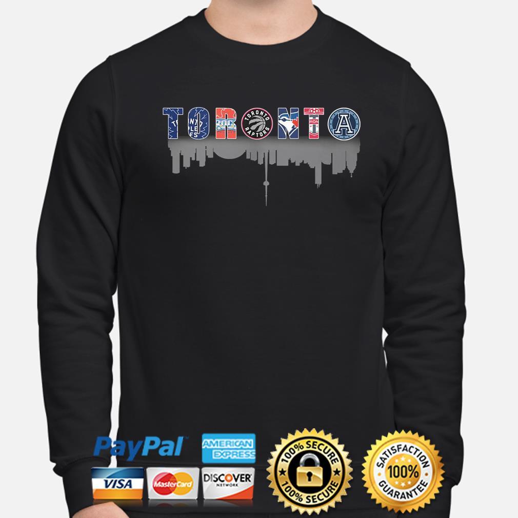 Toronto sport teams Maple Rock Leafs Raptors Argonauts s sweater