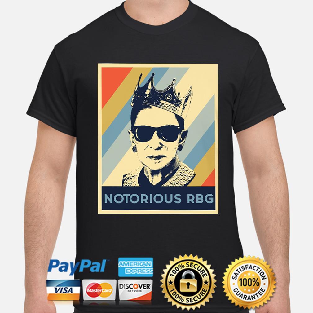 Vintage Notorious RBG Ruth Bader Ginsburg shirt