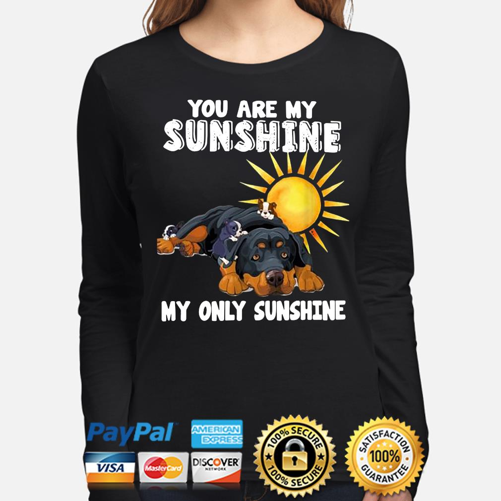 You are my Sunshine my only Sunshine s long-sleeve
