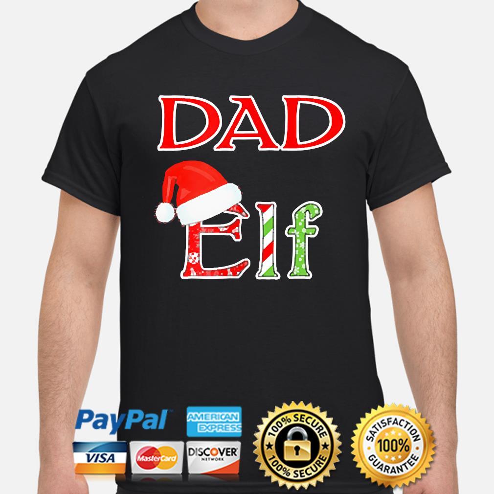 Dad Elf Santa Christmas sweater