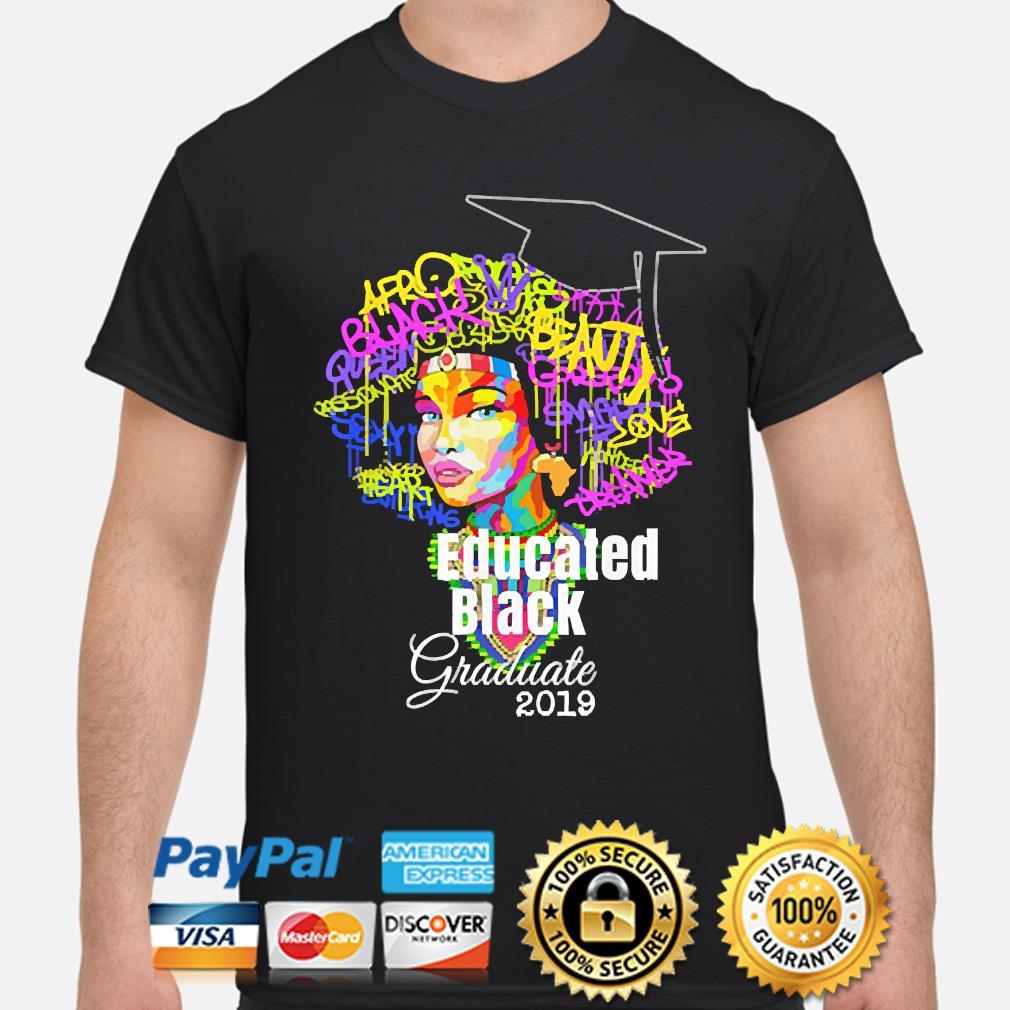 Dashiki Educated Black King shirt