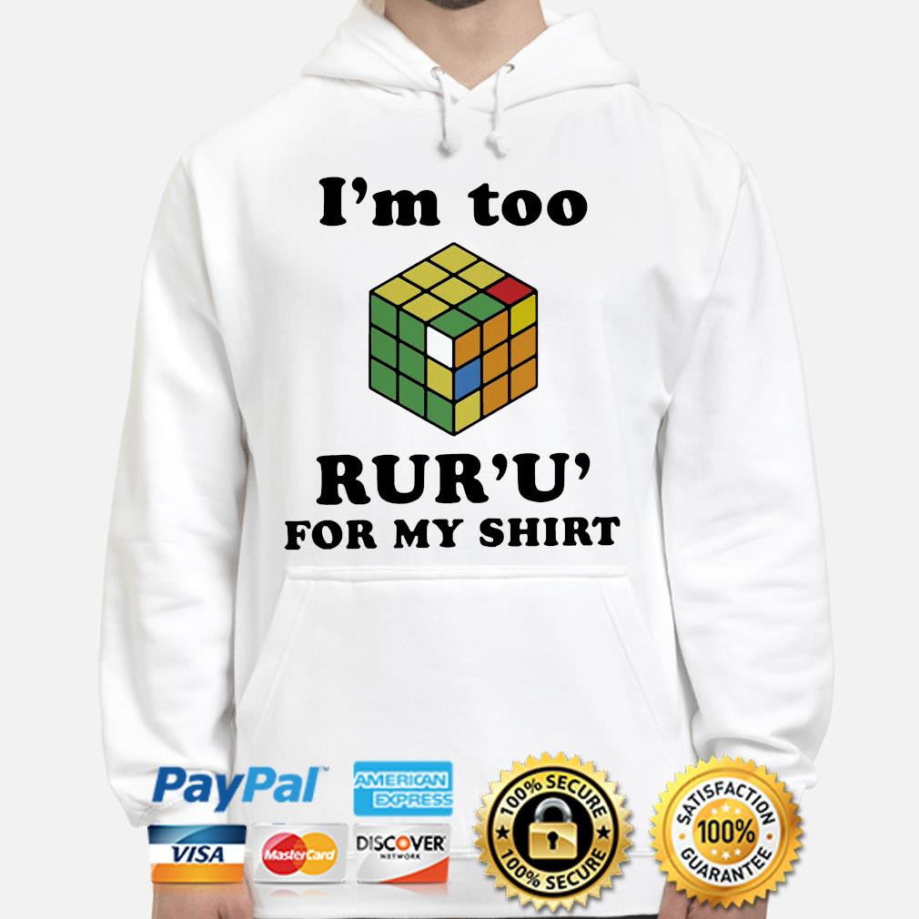 I'm to Rur'U' for my s hoodie