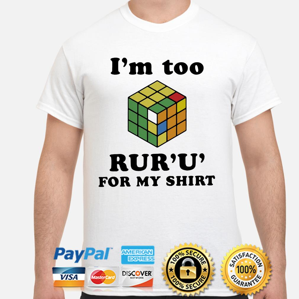 I'm to Rur'U' for my shirt