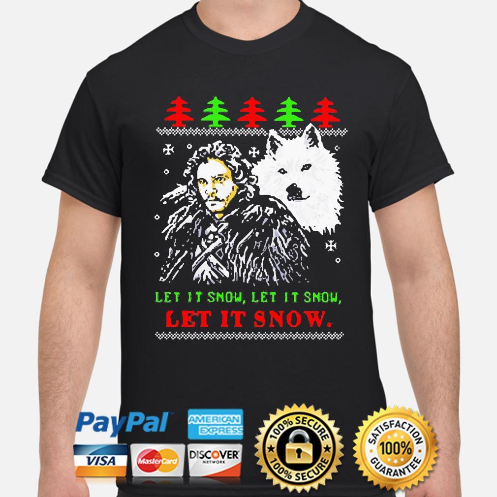 Let it snow let it snow let it snow Ugly Christmas Sweater