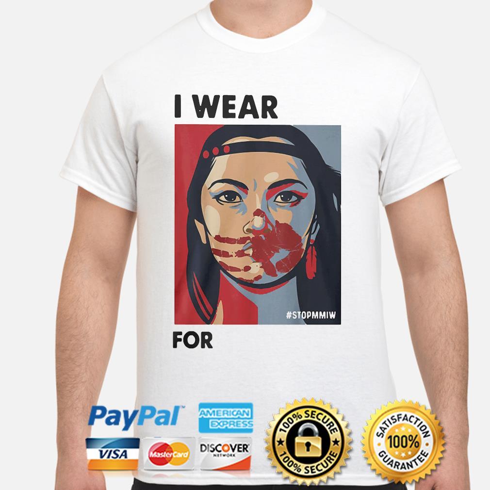 MMIW Awareness Native American Woman Art Stolen Sisters shirt