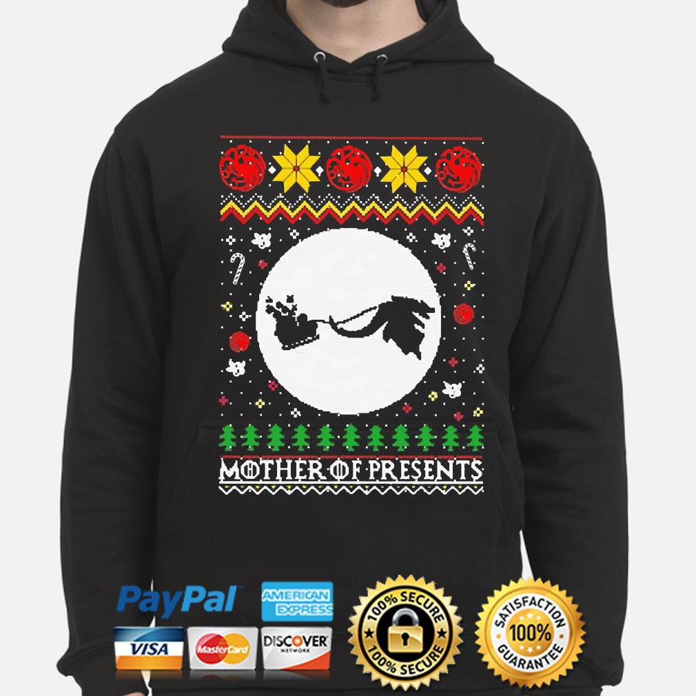 Mother of Presents Ugly Christmas sweater hoodie