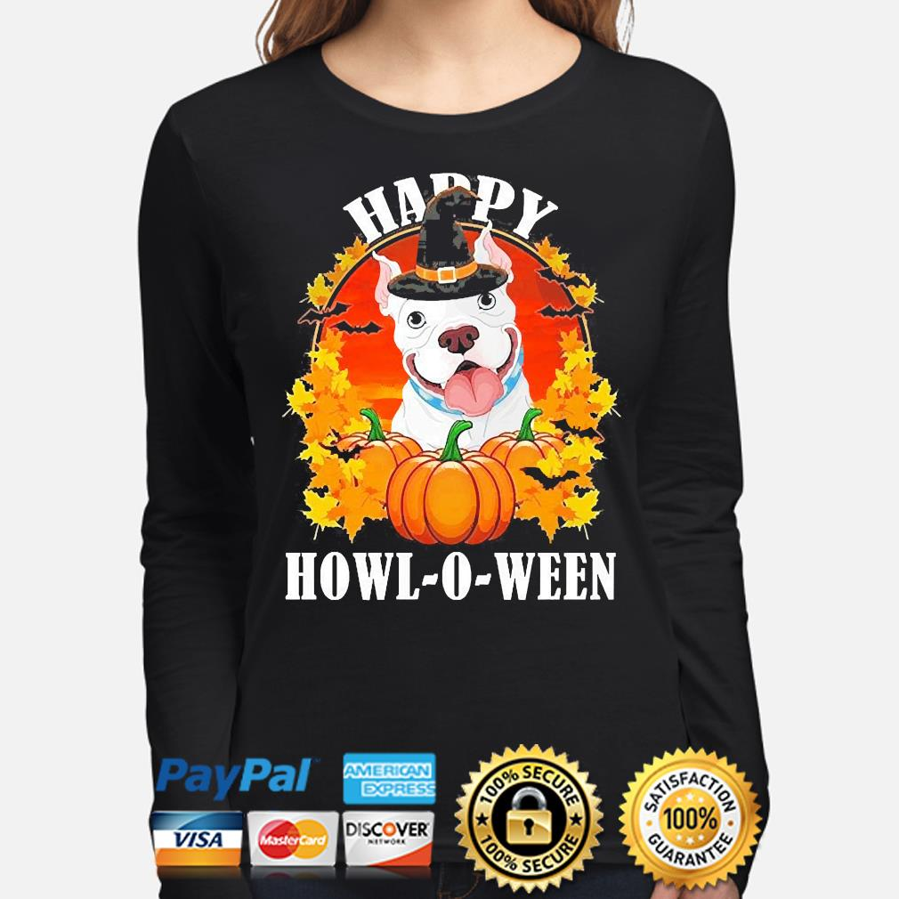 Pitbull Pennywise Happy Halloween s long-sleeve