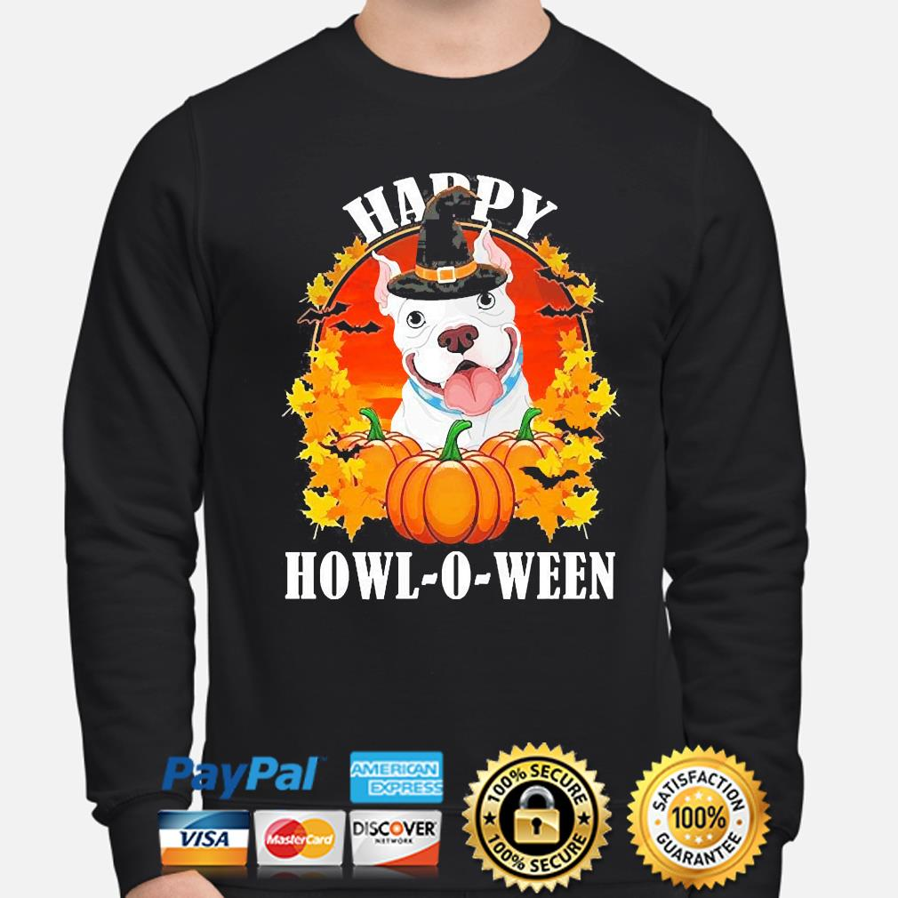 Pitbull Pennywise Happy Halloween s sweater
