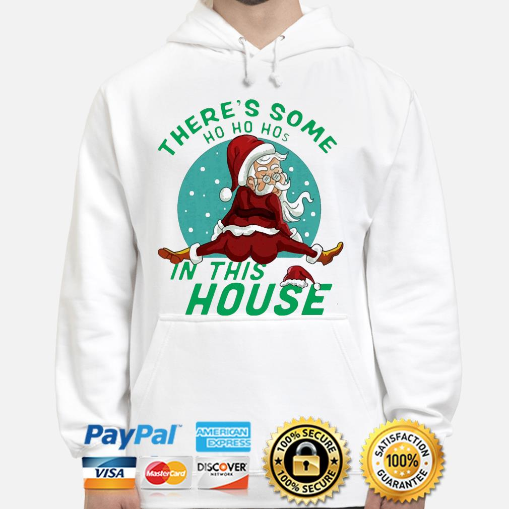 Santa There's some Ho hoho in this House Christmas sweater hoodie